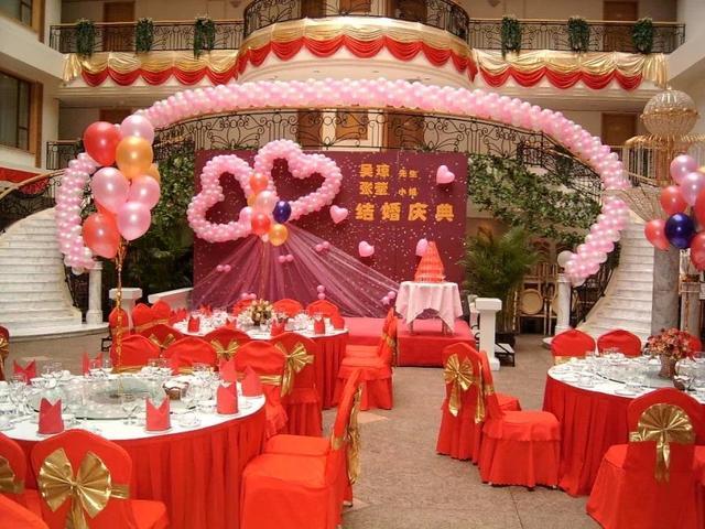 婚禮氣球布置教程:用氣球做婚禮布置在哪些地方