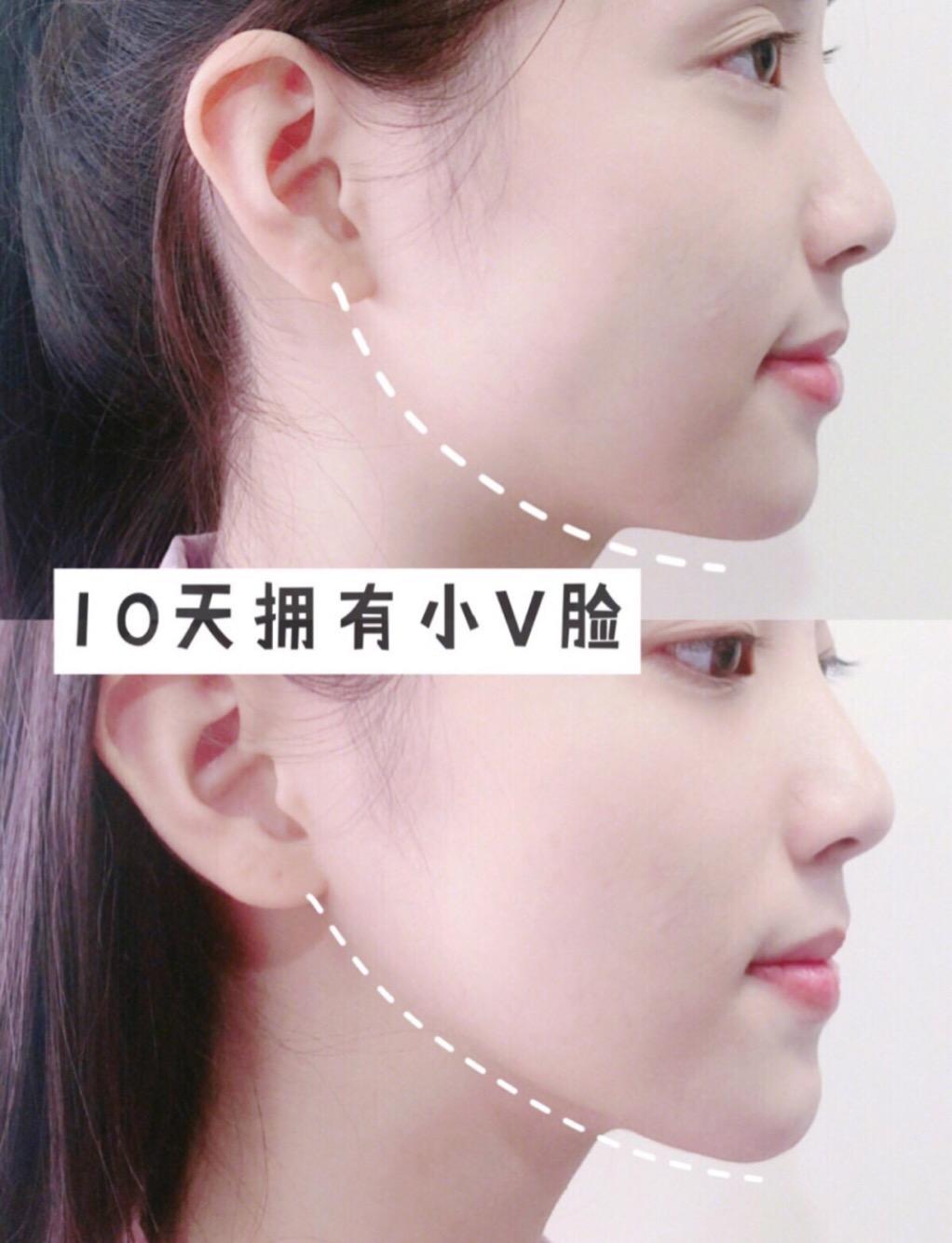 千色分享丨4个动作瘦掉双下巴 变身完美小v脸