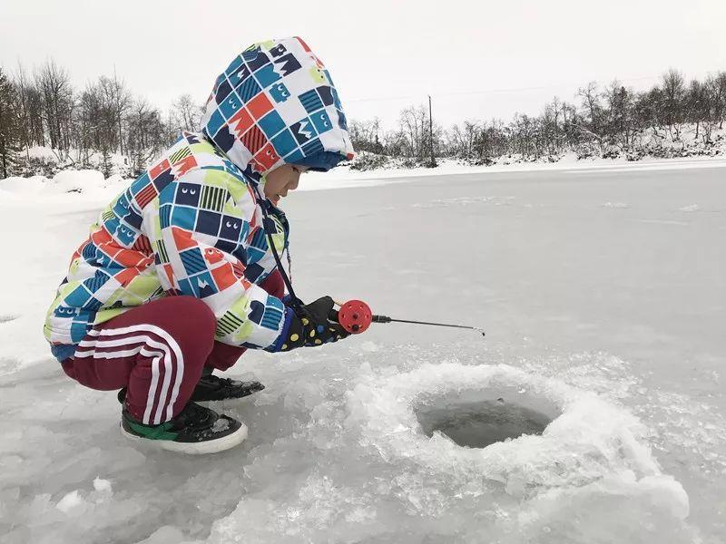 Get 新技能  如何捕捉冰下游鱼