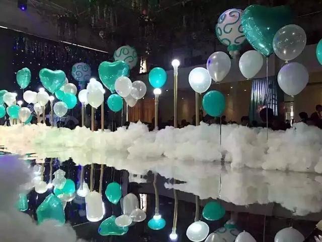 結婚用氣球怎么布置裝飾?用氣球做婚禮布置的進來