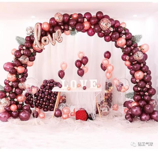 主題婚禮氣球拱門布置圖片!2019最受歡迎的