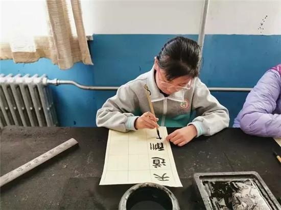 感受书法魅力 弘扬传统文化