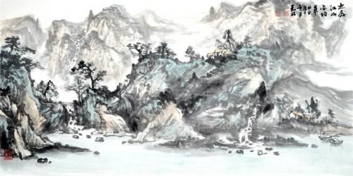 因心造境 别构灵奇:任勤林的山水画意境