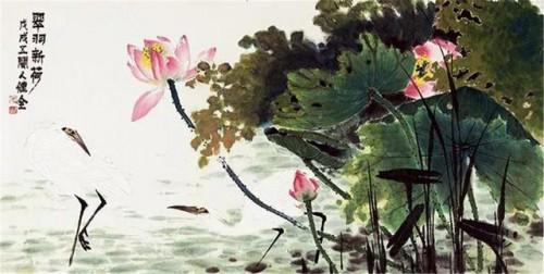 花鸟大境界 走进着名画家毛健全绘画世界