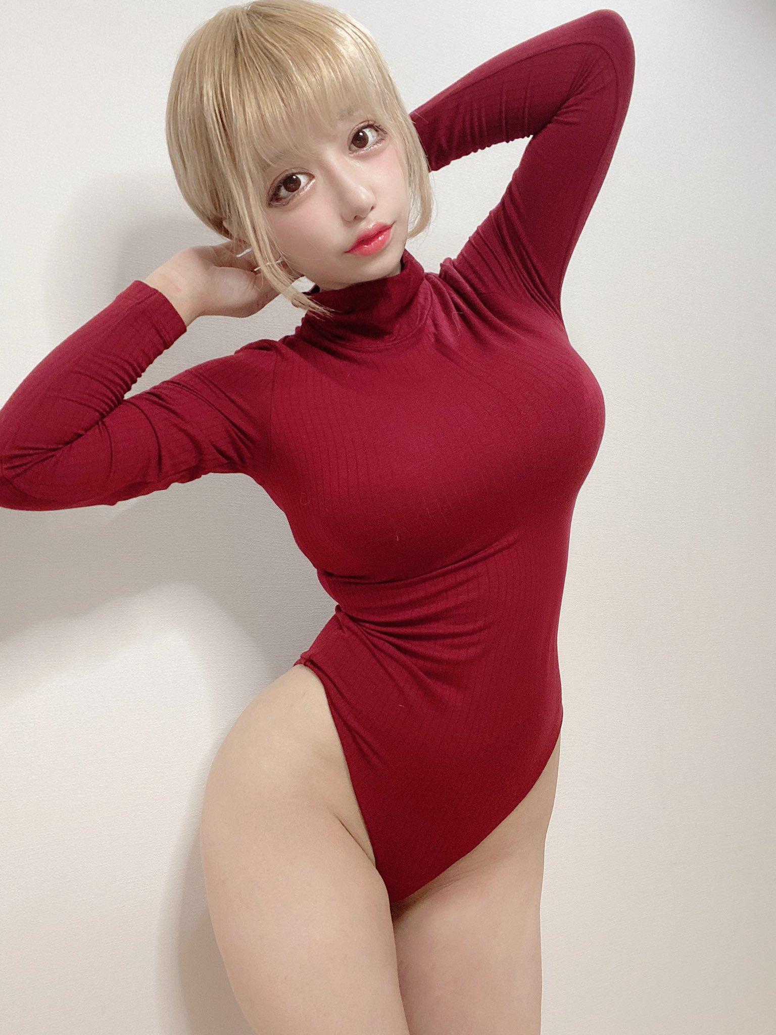 樱花小妹@ふぇりすみにょん 示范优衣裤工口新衣 涨姿势 热图11