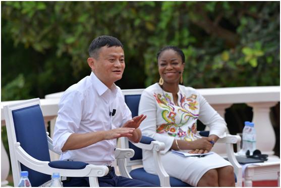 马云用20年创业经验培养非洲企业家:不要为过去担心