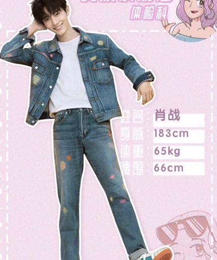 揭秘當紅男星的身高體重:肖戰最高,羅云熙最瘦