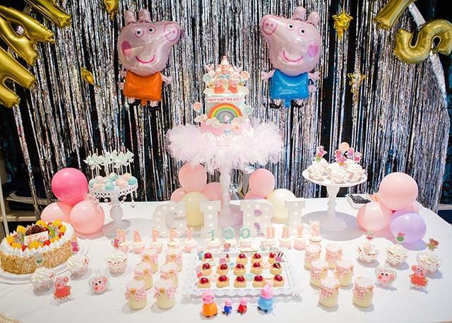 兒童生日派對氣球現場布置裝飾圖片!孩子一定喜歡