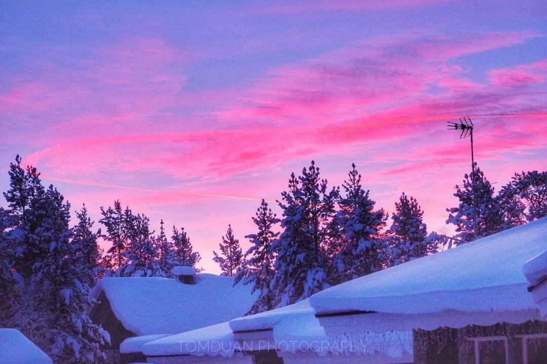 挪威特罗姆瑟 极夜