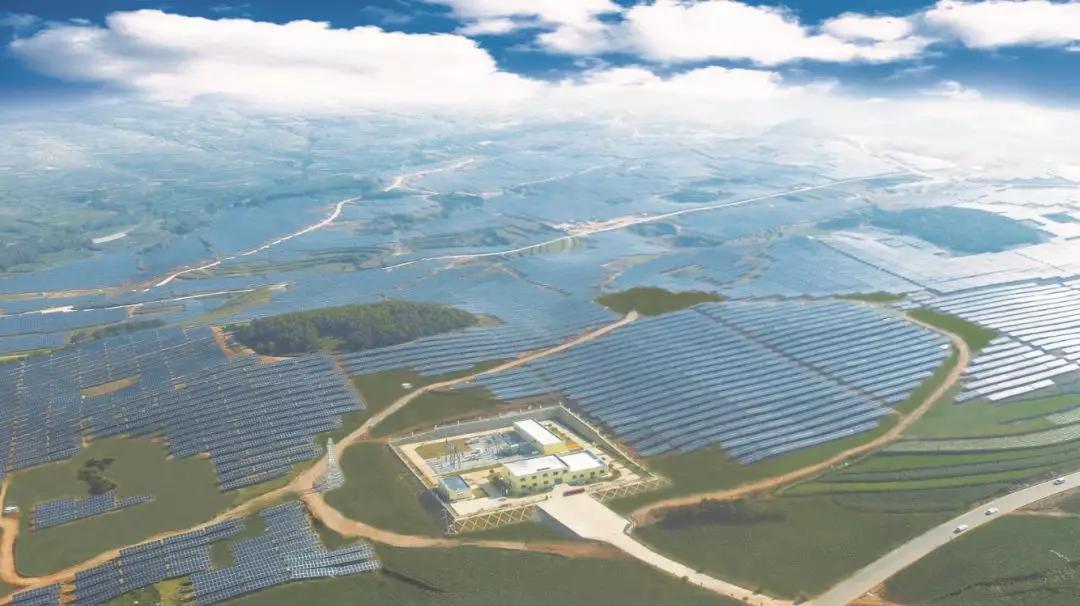 威宁能源小官山光伏电站2019年发电量突破1亿千瓦时
