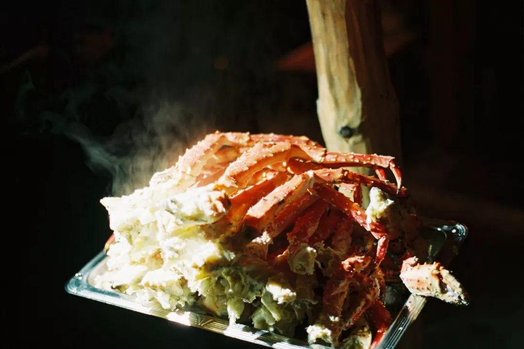 挪威特罗姆瑟 帝王蟹