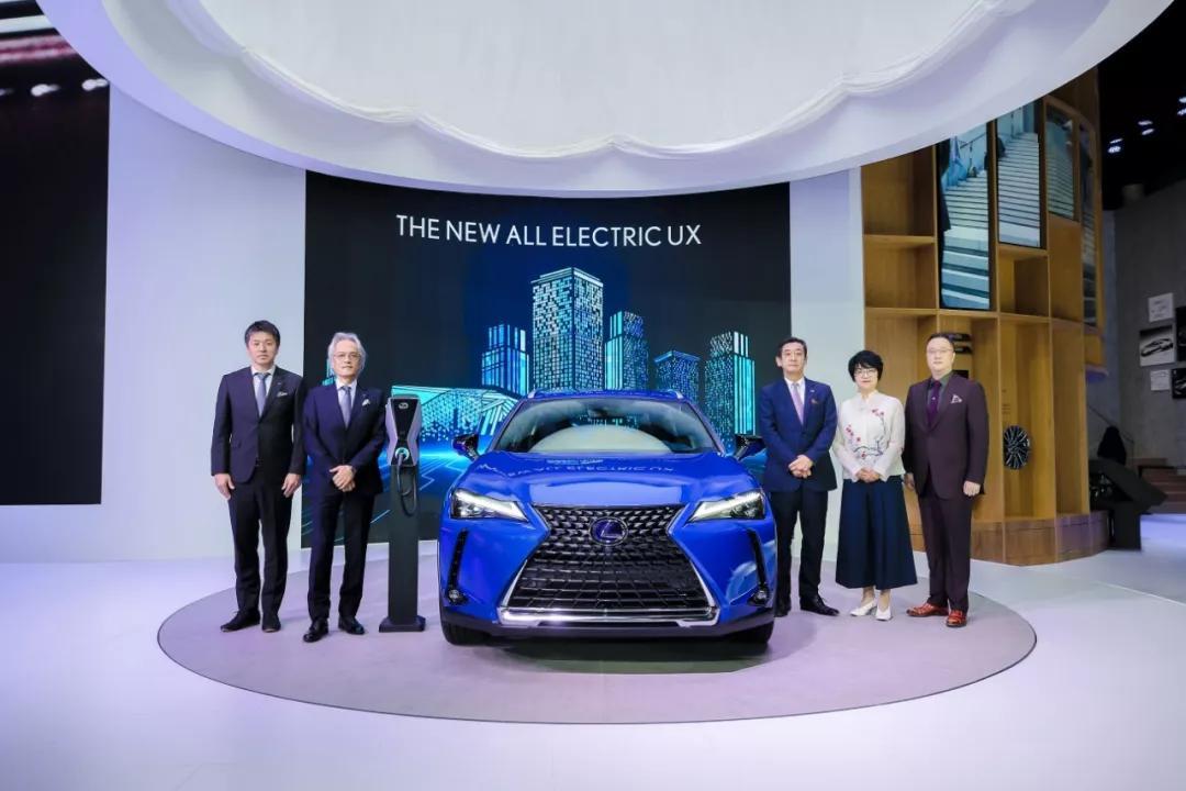 入局纯电动市场 雷克萨斯UX300e广州车展首秀