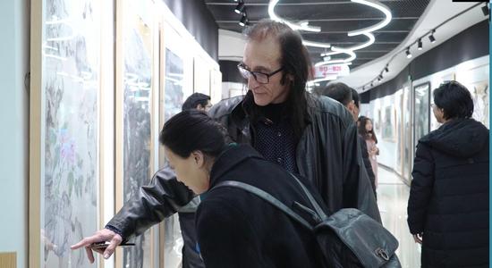 环保相约・笔墨同行暨万恒艺术百位名家环保文化展在京隆重开幕