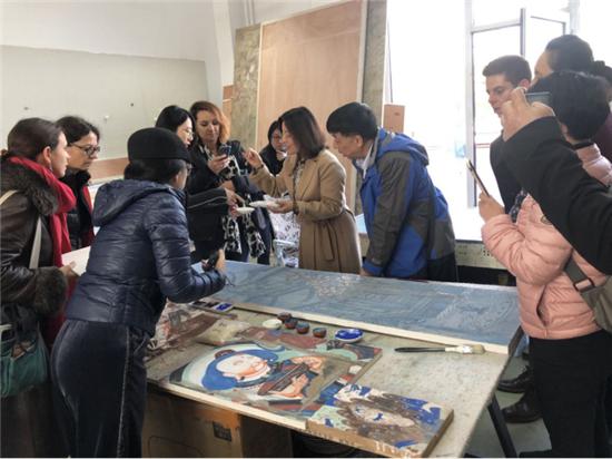 """""""创作源泉"""" 中法艺术家作品交流展在李可染画院顺利闭幕"""