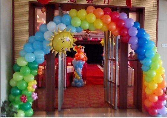 簡單的氣球裝飾方法!不知道如何用氣球裝飾的進來