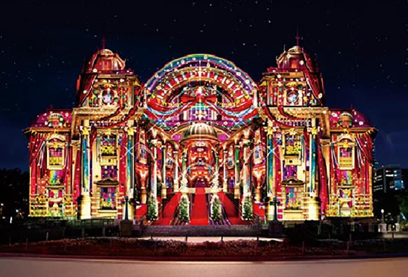 在旅游购物胜地,大阪梅田阪急百货店感受日本圣诞节!迎接2020新年!