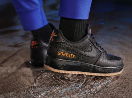 GORE-TEX 机能加持!能防水的Nike Air Force 1 来了!