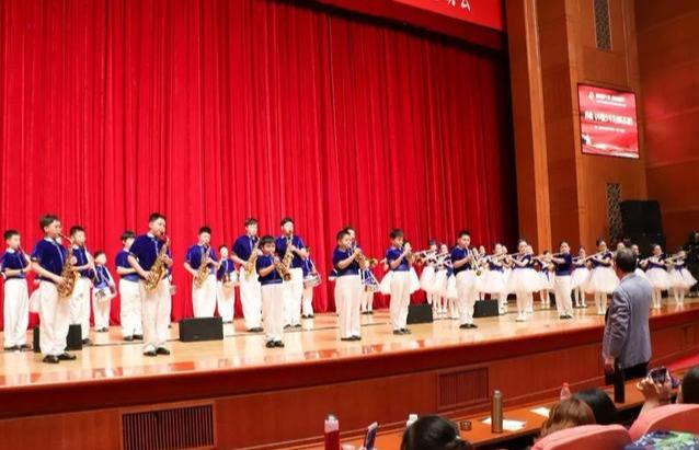 逸阳梅江湾国际学校庆祝三结合教育40周年文艺晚会