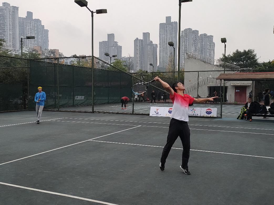 点燃运动激情,凝聚奋进力量||四川省第二十四届职工网球比赛开幕
