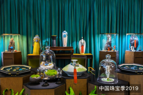中国珠宝季2019上海揭幕 呈现一场美好的珠宝盛宴