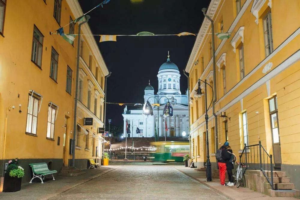 解锁芬兰赫尔辛基