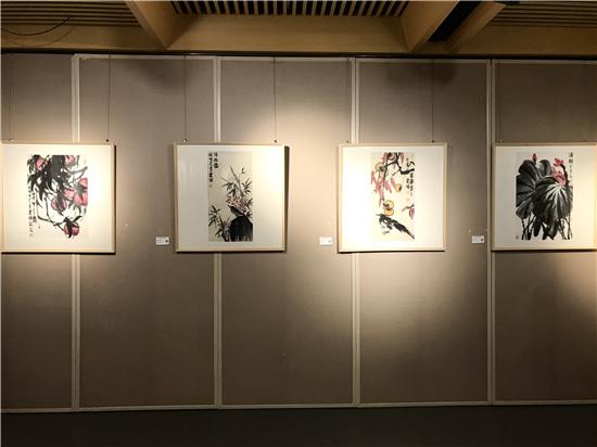 万恒艺术・发现--潘建博国画精品展在炎黄艺术馆成功举行