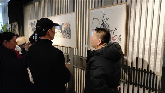 万恒艺术·发现--潘建博国画精品展在炎黄艺术馆成功举行