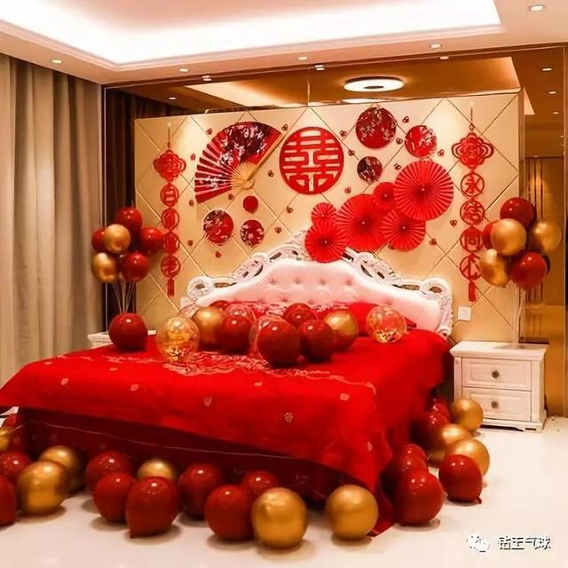中式婚房布置圖片大全!一起來欣賞一下吧
