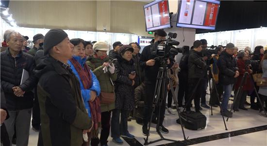 2019年第十六届海淀文化季-《诗画海淀区~辉煌北下关》首个市民书画展开幕
