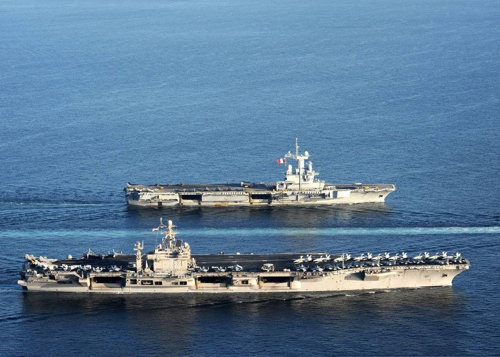 """林肯號航母""""騷擾""""波斯灣,伊朗國內事態平息,一致抵御外來敵人"""