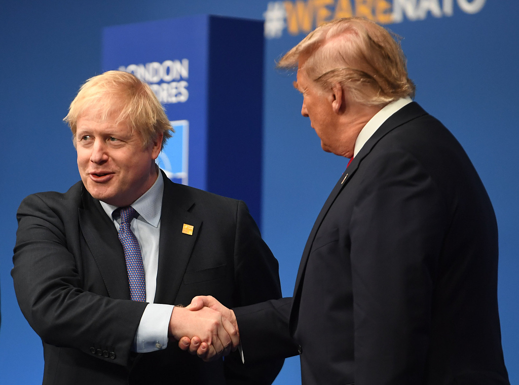 """不惧美国""""威胁"""",约翰逊坚持征收数字税_中欧新闻_欧洲中文网"""