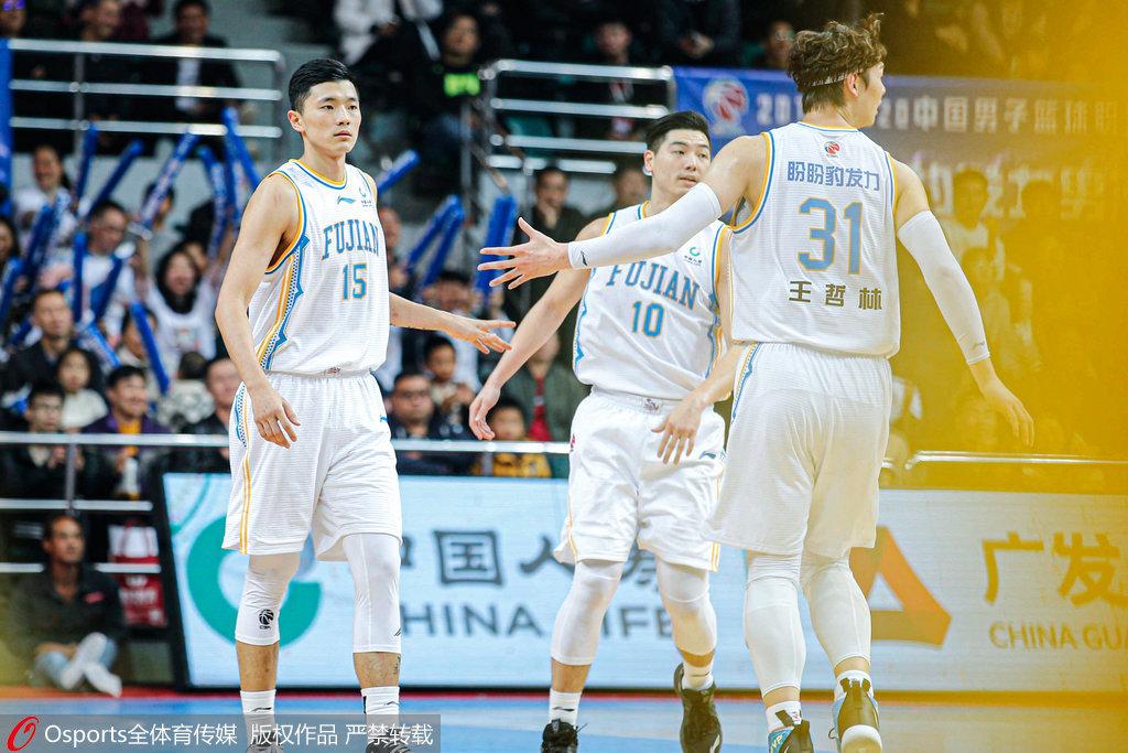 陈林坚36分大王11+12 福建34分大胜上海结束6连败