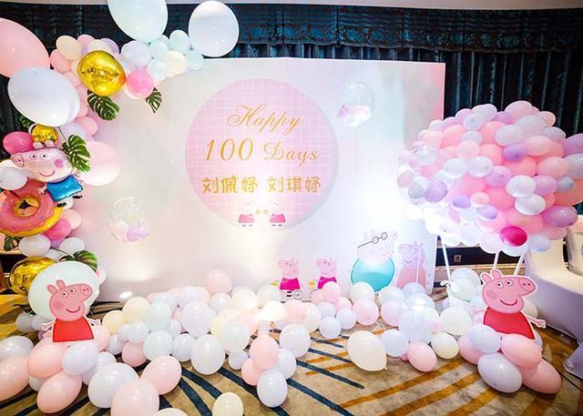 寶寶周歲宴氣球造型!布置這些主題簡單好看