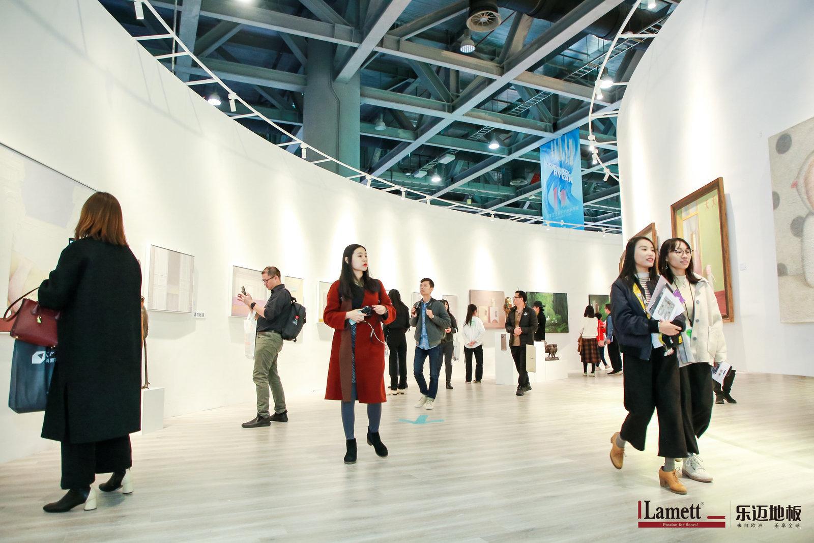 燃爆广州设计周!Lamett乐迈地板携手尖艺术节,新品发布吸睛无数!
