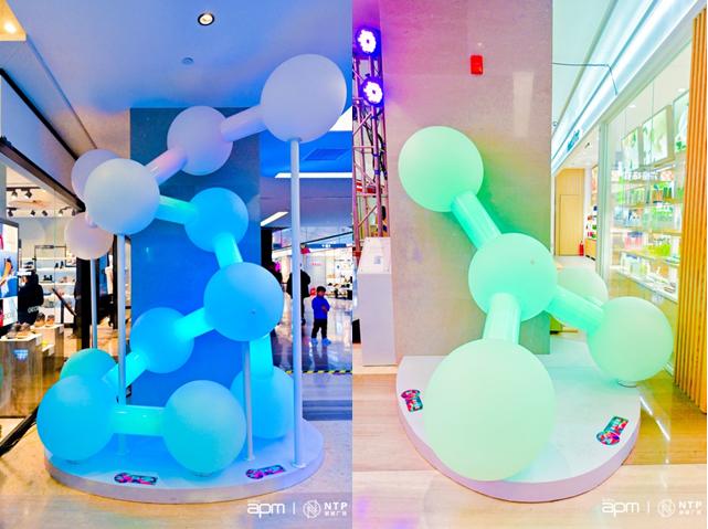 心动不已——新濠娱乐场手机版apm、NTP新城广场未来概念灯光艺术中国首展开启