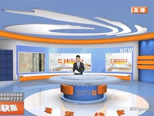 虚拟演播为四川电视台早间新闻直播节目带来更加灵活的播报形式