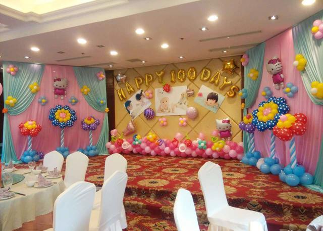 """氣球布置婚房、生日房間等也可以""""高大上"""""""