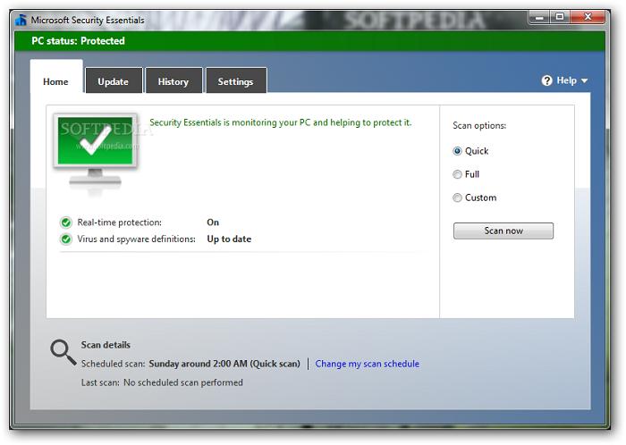 Win7免费杀毒软件Security Essentials将于下月终止支持的照片 - 2