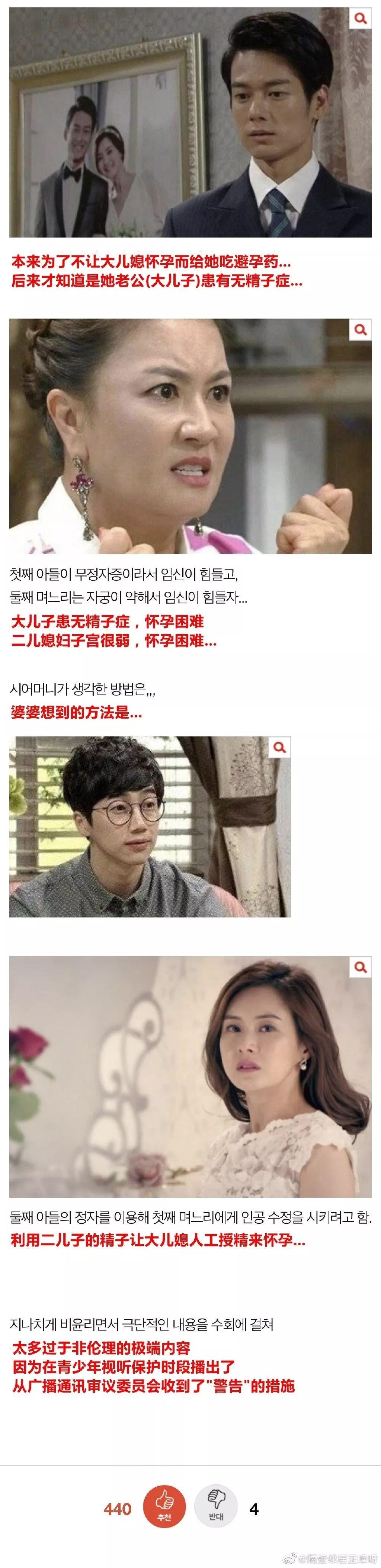 感受一下韓國收視率達到25%的晨間電視劇,這劇情狗血又迷惑!