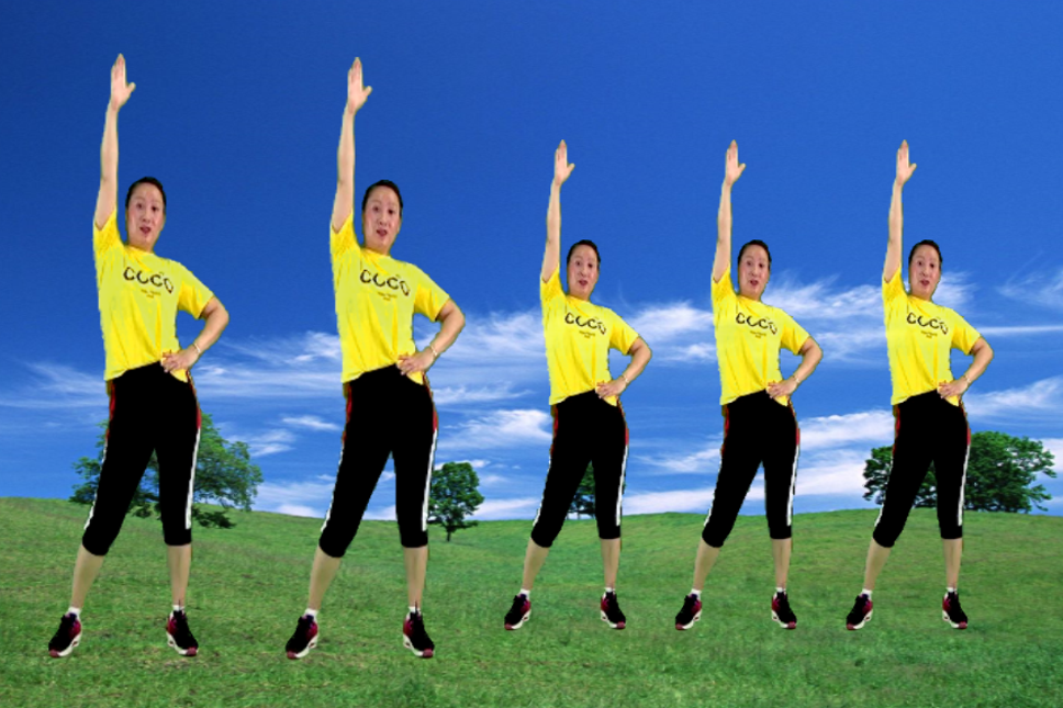 5分钟快速瘦身收腹运动减肥操《火火的爱》每天三遍让你瘦成闪电