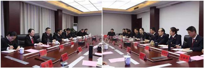 响水县法检两院召开联席会议解决司法实务问题探索建立长效机制