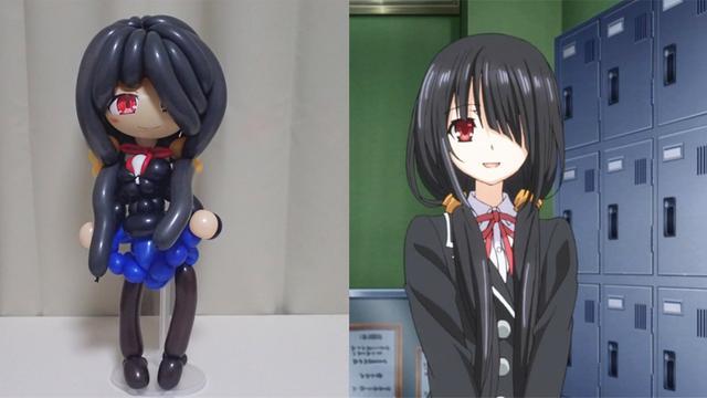 氣球動漫美少女圖片被日本手藝人還原!快來看看