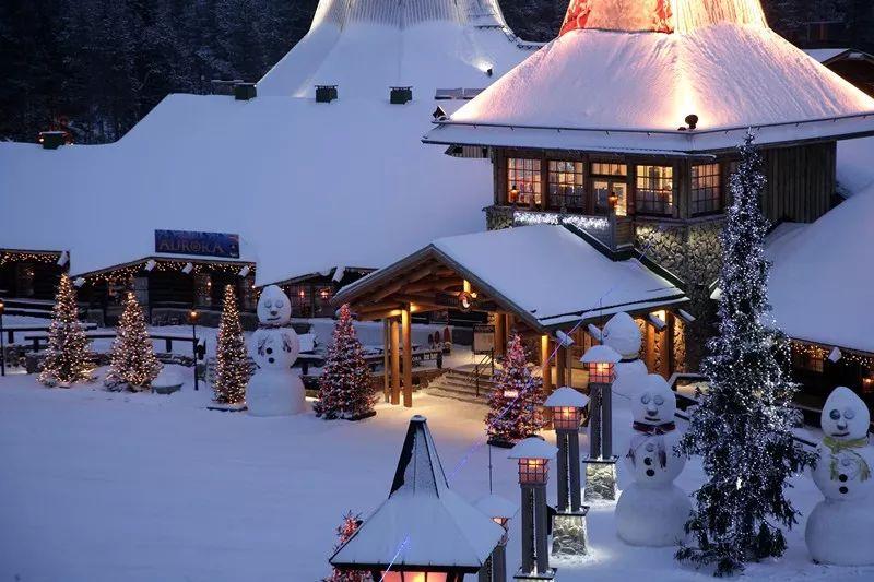 芬兰罗瓦涅米的圣诞老人村