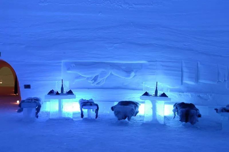 拉普兰的冰雪酒店
