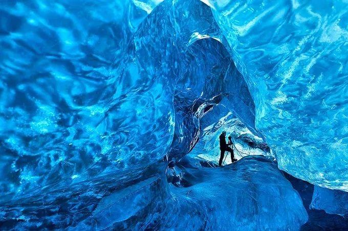 冰岛瓦特纳冰川
