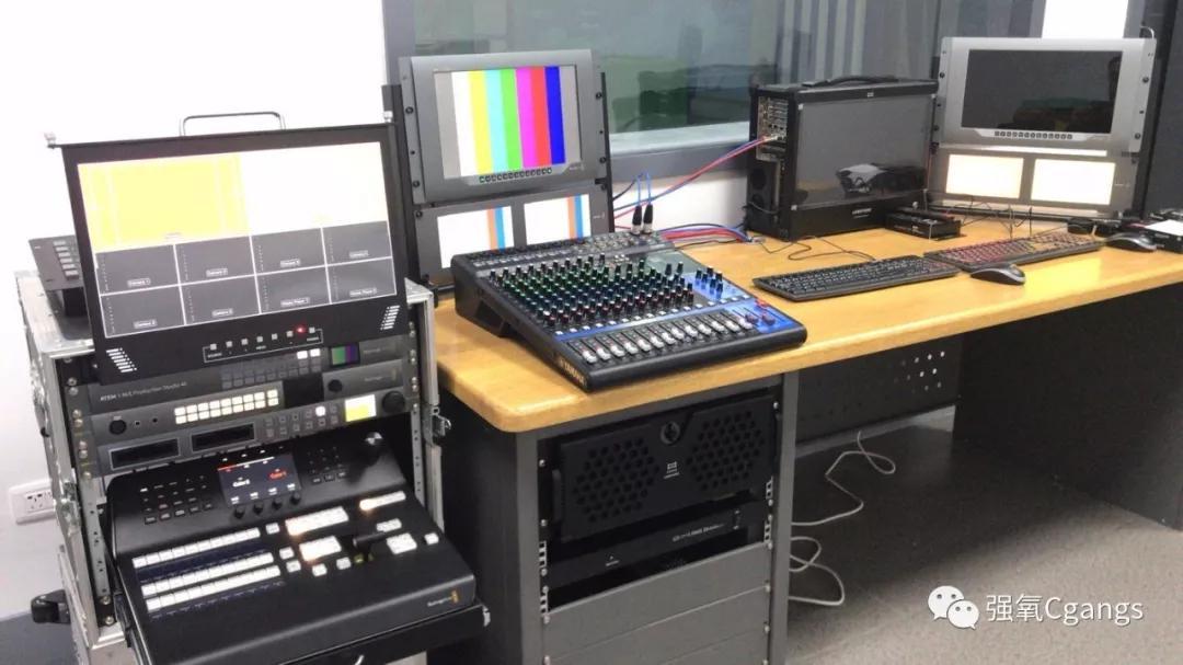 吉林工程技术师范学院演播室配备Blackmagic Design 4K EFP系统