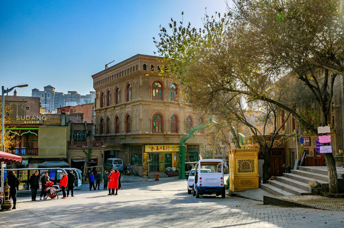 新疆喀什,2100年的历史古城,国内唯一保存完整的迷宫式城市街区