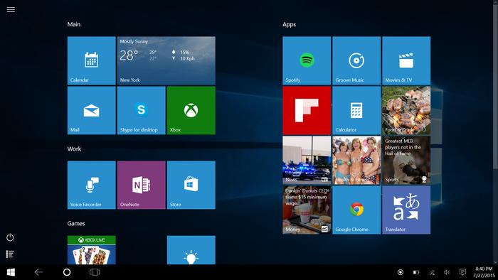Win10X界面迎来大改:微软该放弃磁贴设计了吗的照片 - 6