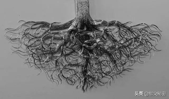 [文化 藝術]【硯外之藝】 英國鄉村大叔半路出家做雕塑,僅用鋼絲做出美人魚,引無數好 ...