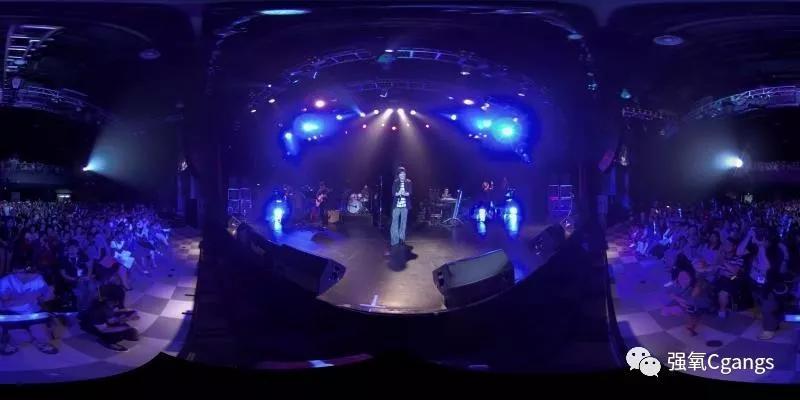 黄小琥《爱情原来》VR专场音乐会采用Argus 3目VR全景摄影机拍摄